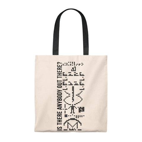 Arecibo Message Tote Bag - Vintage
