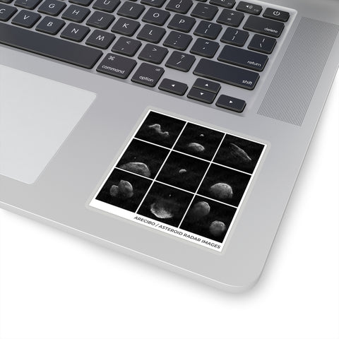 Asteroid Radar Stickers
