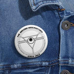 Radio Telescope - Pin Button