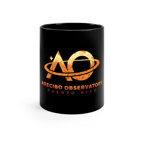 AO Fall Logo - Black mug 11oz
