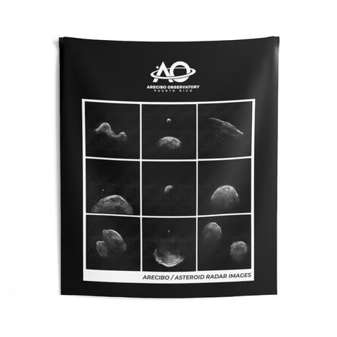 Asteroid Radar - Indoor Wall Tapestries