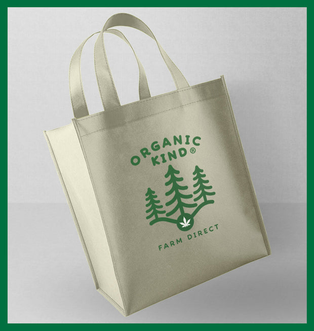 Organic Kind Reusable Tote Bag
