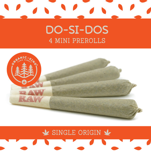 Do-Si-Dos - 4 Pack Mini Single Origin Prerolls
