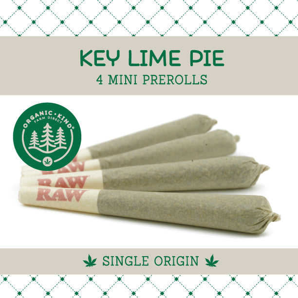 Key Lime Pie - 4 Pack Mini Single Origin Prerolls