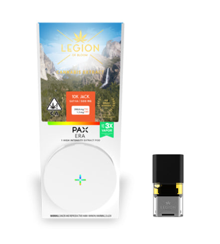 Legion of Bloom PAX ERA 0.5g Pod - 10K Jack (Sativa)
