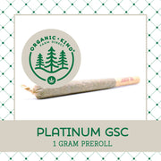 Platinum GSC - Full Gram Single Origin Preroll
