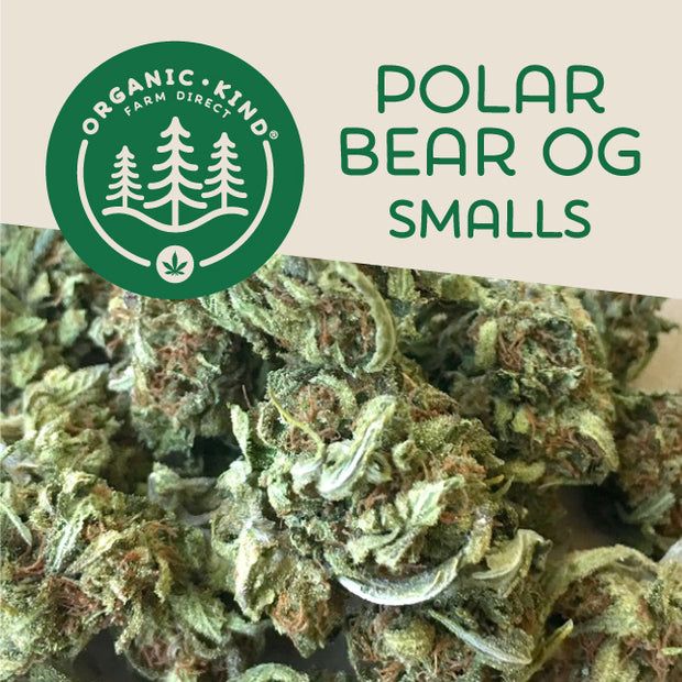 Polar Bear OG Smalls (Indica Hybrid)