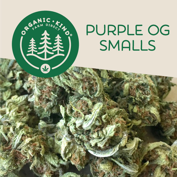 Purple OG Smalls (Indica Hybrid)