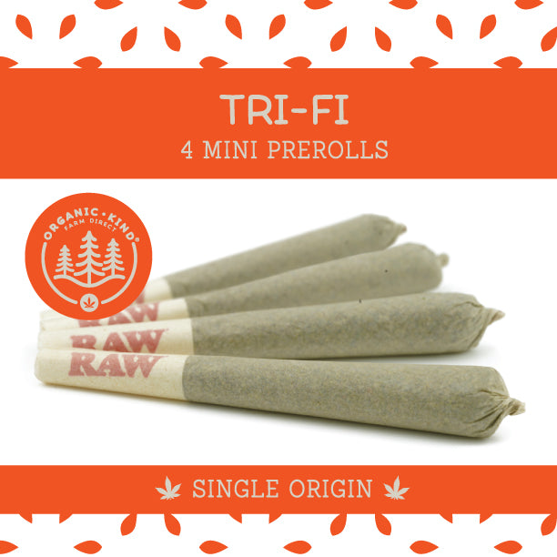 Tri-Fi - 4 Pack Mini Single Origin Prerolls