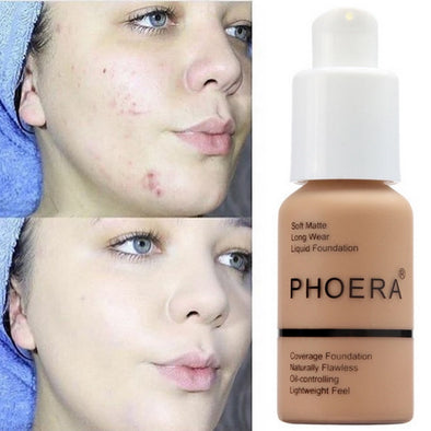 PHOERA™ Soft Matte Full Coverage Liquid Foundation