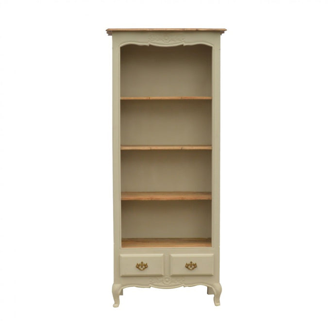 Amberly Carved Bookcase - Blakes Discounts