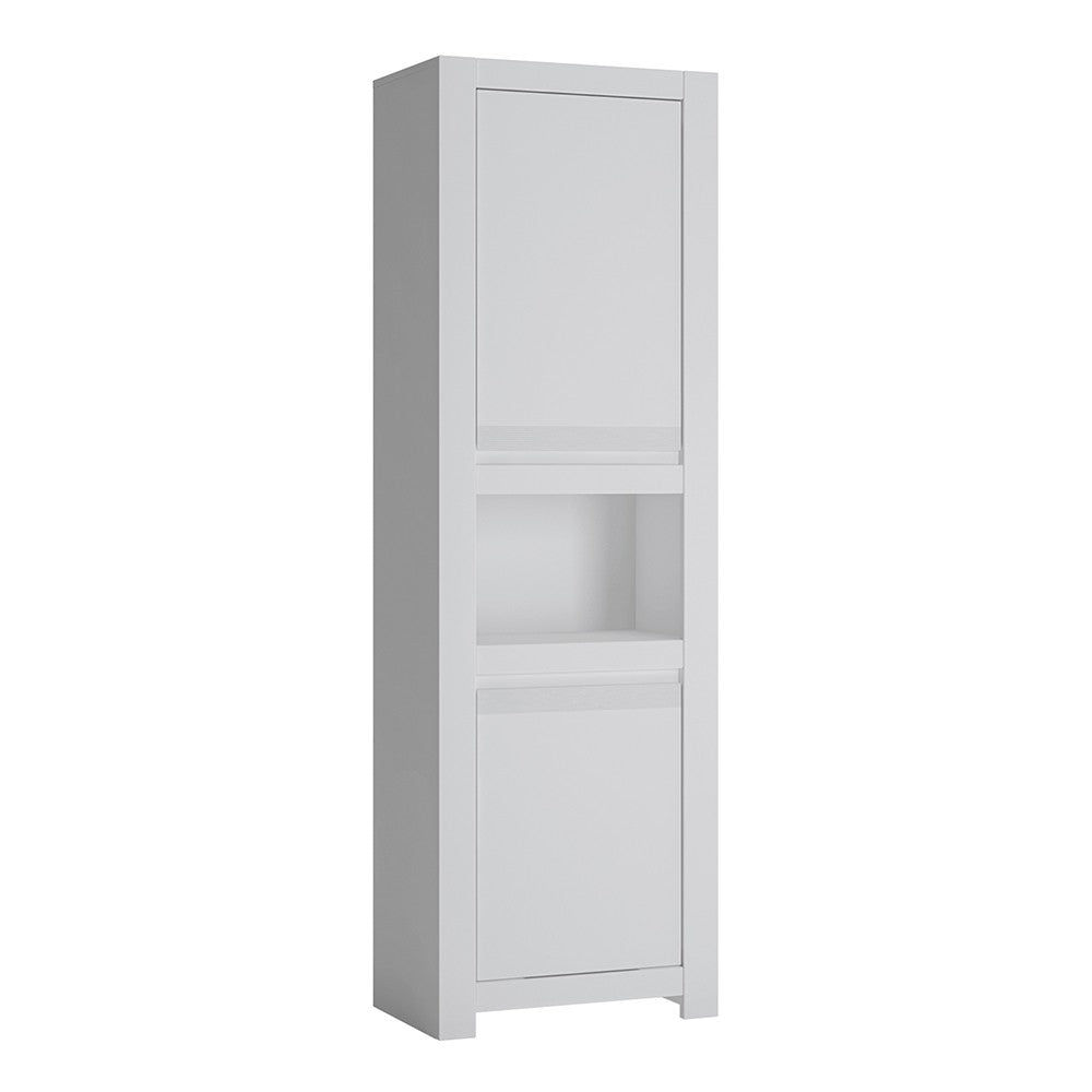 Novi 2 Door Chiffonier in Alpine White