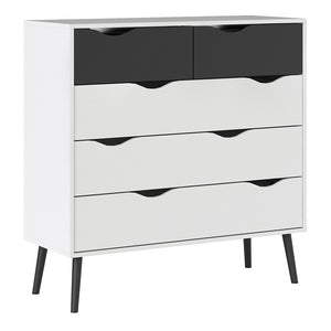 Oslo Chest of 5 Drawers (2+3