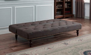 CHARLES SOFA BED BROWN - Blakes Discounts
