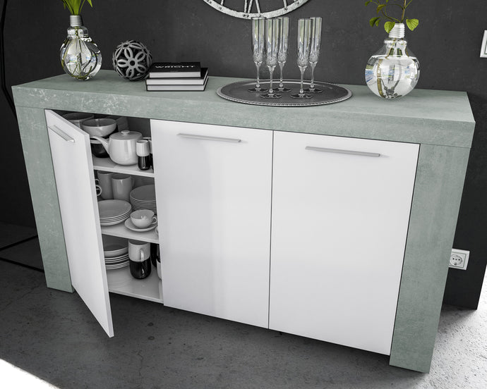 AMBIT 3 Door Buffet Sideboard - 2 Colours - Blakes Discounts