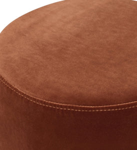 Lola Burnt Orange Ottoman