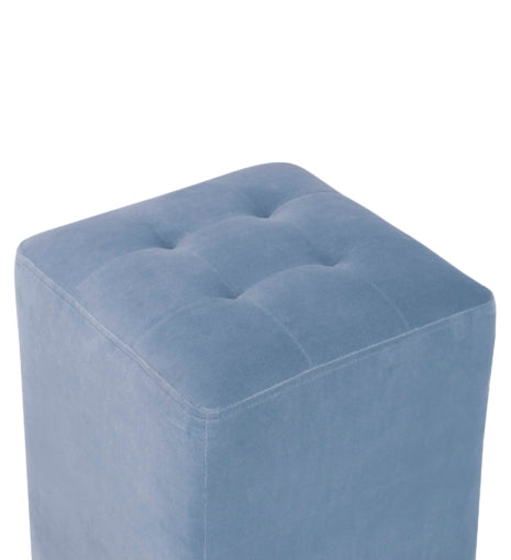 Margot Powder Blue Ottoman