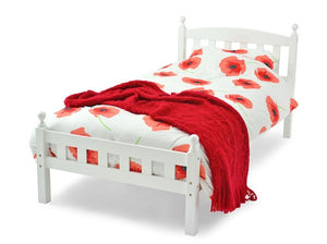Kids SINGLE BED- WHITE - Blakes Discounts