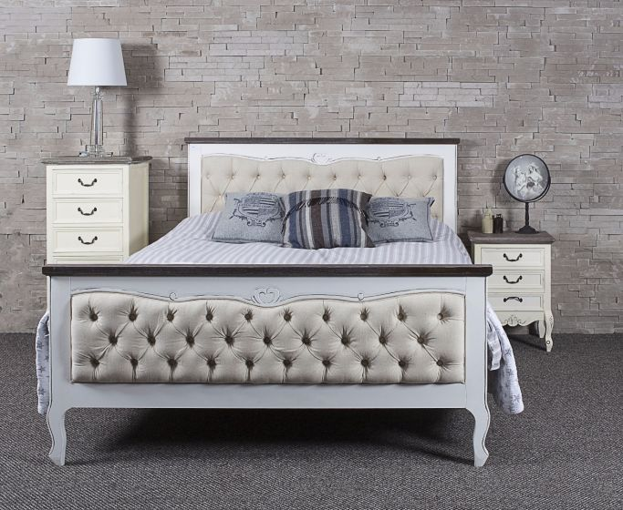 Upholstered Heart Bed