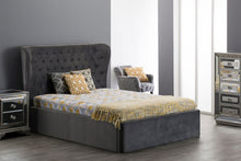 Load image into Gallery viewer, 5ft King Roberta Bed-Grey - Blakes Discounts