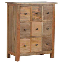 Load image into Gallery viewer, Country Style Mini Chest with 9 Drawers