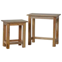 Load image into Gallery viewer, Country Style Stool Set of 2