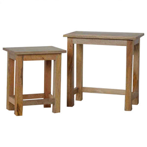 Country Style Stool Set of 2