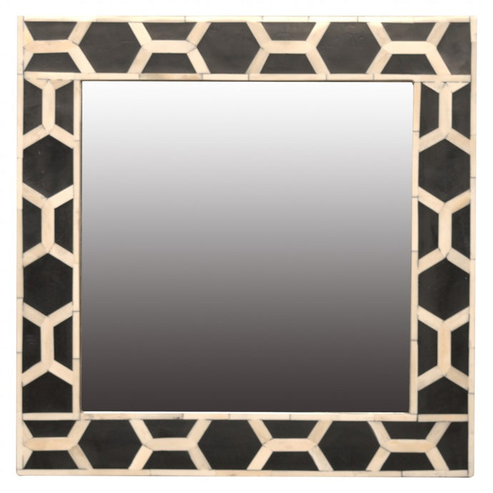 Bone Inlay Frame with Mirror - Blakes Discounts