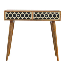 Load image into Gallery viewer, Bone Inlay Console Table - Blakes Discounts