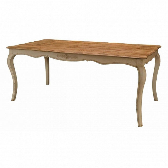 Amberly Carved Dining Table - Blakes Discounts