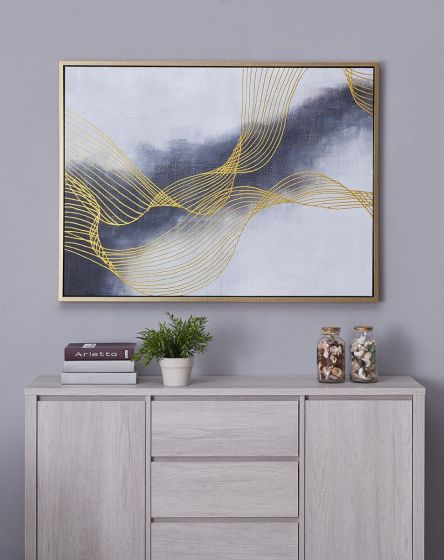 Navy Vibes Wall Decor