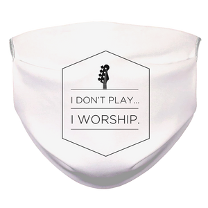 I WORSHIP-2 Face Mask - Lathon Bass Wear