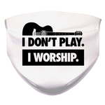 I WORSHIP = GUITAR Face Mask