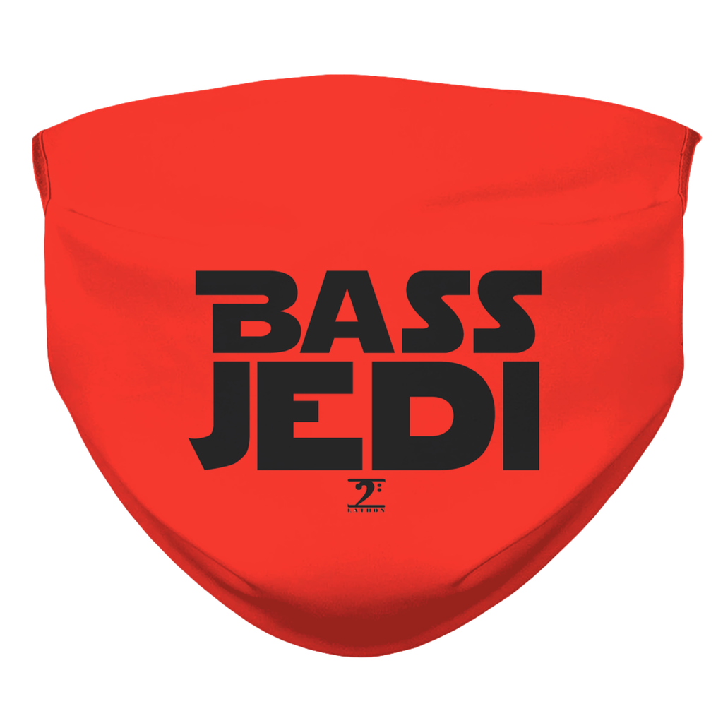 BASS JEDI = RED Face Mask