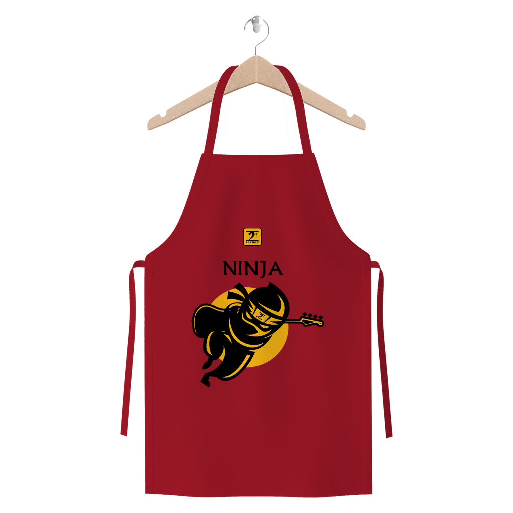Kerry Bass Ninja fixed Premium Jersey Apron - Lathon Bass Wear