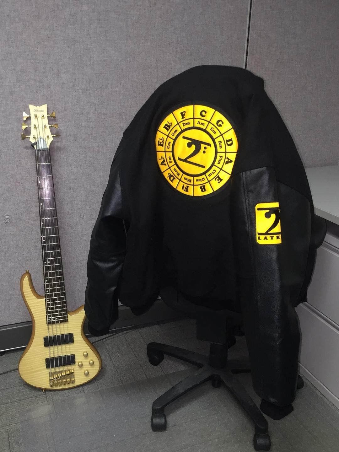 CIRCLE OF 5TH TOUR JACKET - Lathon Bass Wear