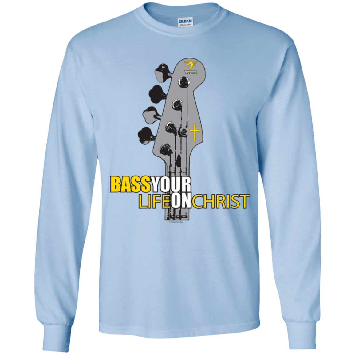 G240B Gildan Youth LS T-Shirt - Lathon Bass Wear