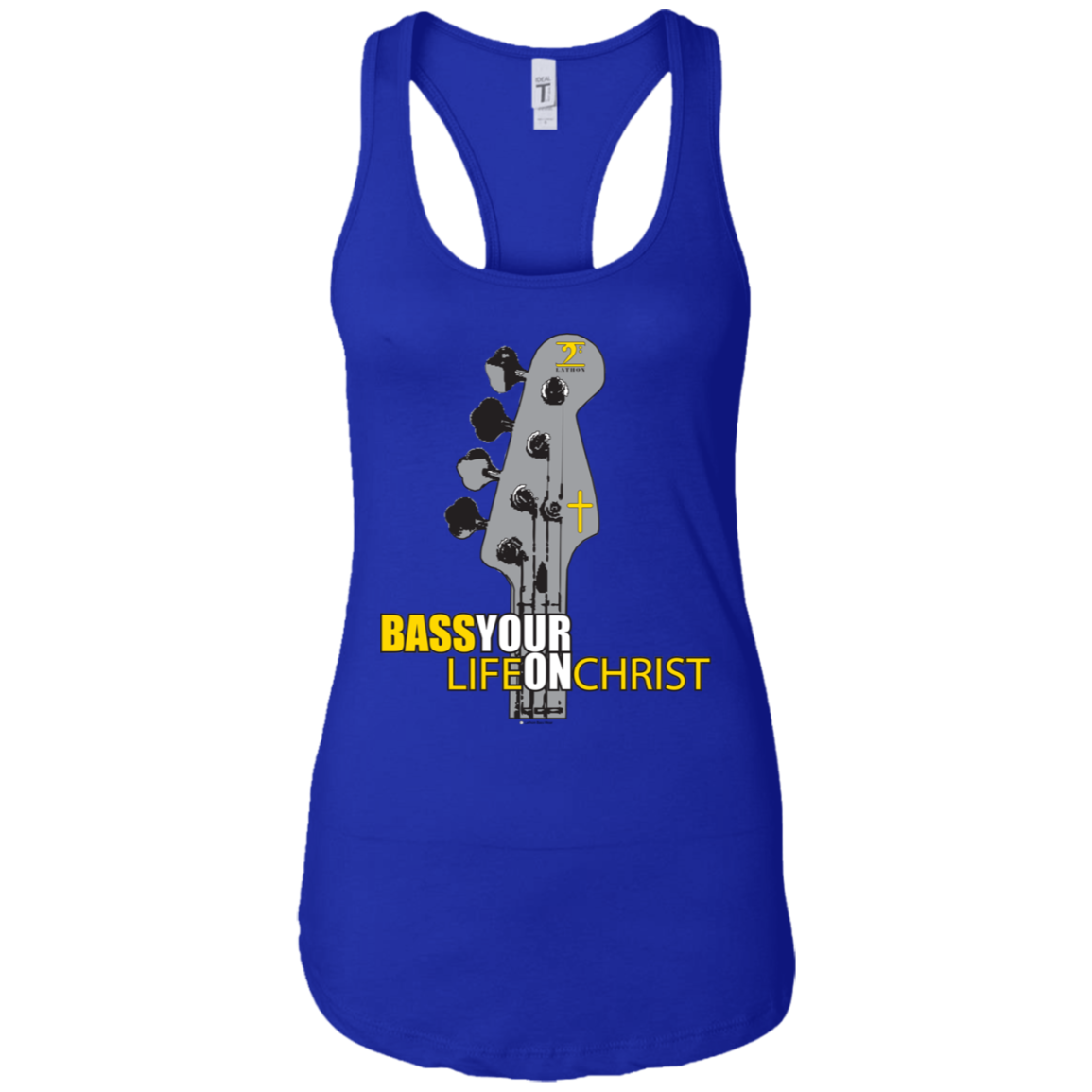 NL1533 Next Level Ladies Ideal Racerback Tank - Lathon Bass Wear