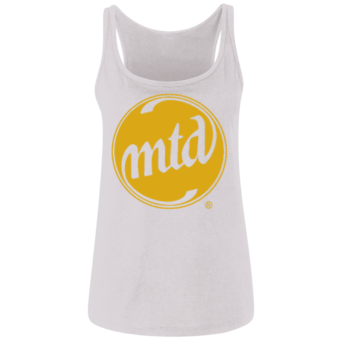 MTD GOLD LOGO Ladies' Relaxed Jersey Tank