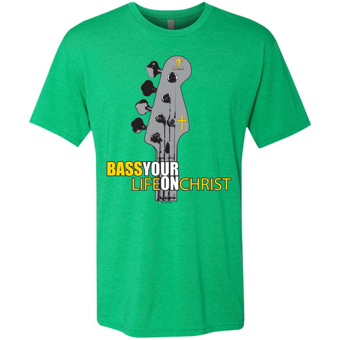NL6010 Next Level Men's Triblend T-Shirt - Lathon Bass Wear