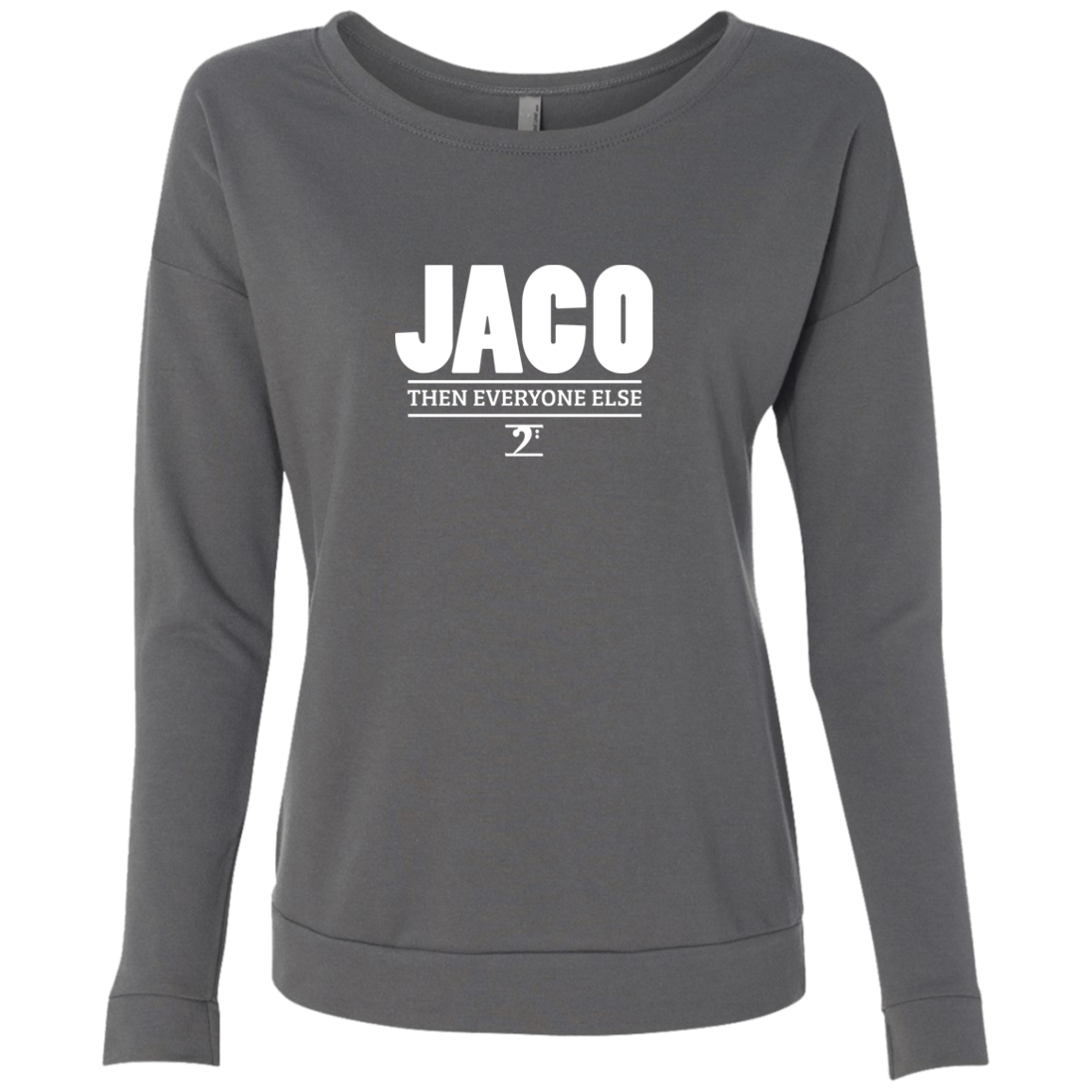JACO Ladies' French Terry Scoop - Lathon Bass Wear