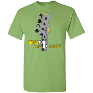 G500B Gildan Youth 5.3 oz 100% Cotton T-Shirt - Lathon Bass Wear