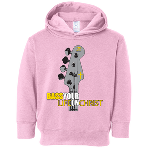 BASS YOUR LIFE ON CHRIST Toddler Fleece Hoodie - Lathon Bass Wear