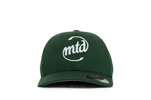 MTD GREEN CAP - WHITE LOGO