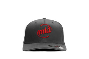 MTD DARK GREY - RED LOGO