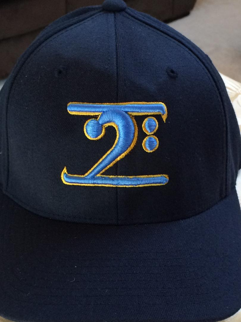 NAVY LOGO CAP - COL. BLUE LOGO GOLD TRIM