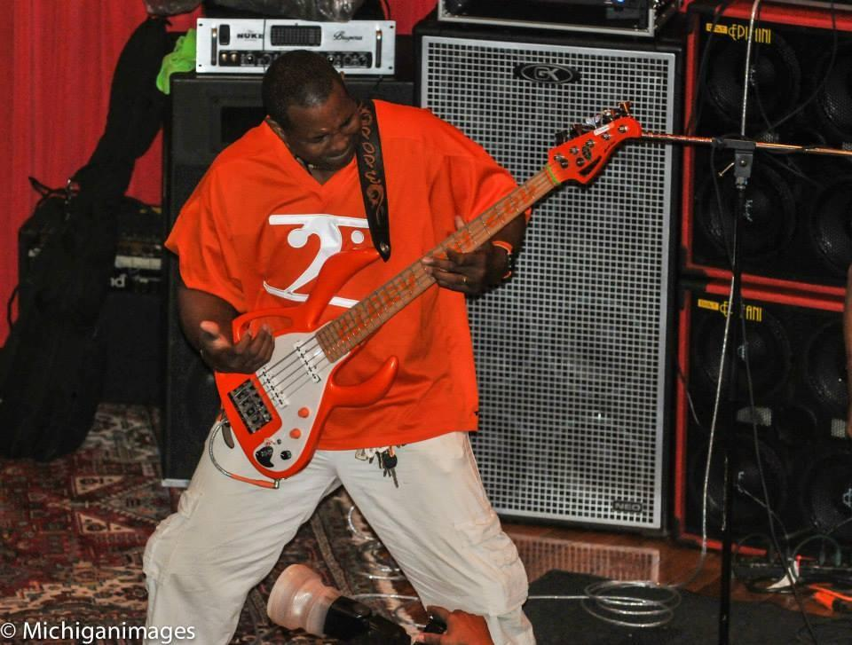 POPE'S ORANGE FUNK JERSEY - Lathon Bass Wear