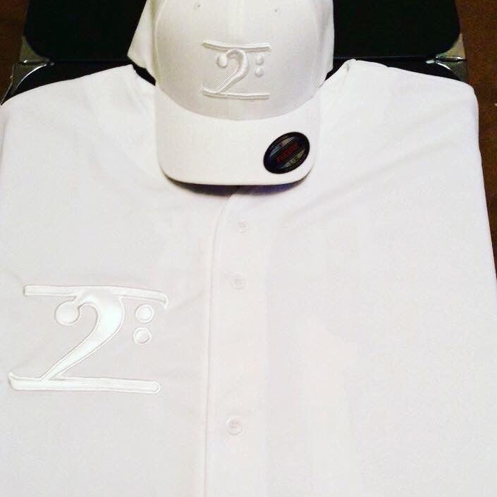 J. CLARK CAP = WHITE ON WHITE