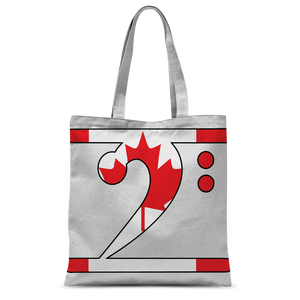 CANADIAN LBW Classic Sublimation Tote Bag - Lathon Bass Wear