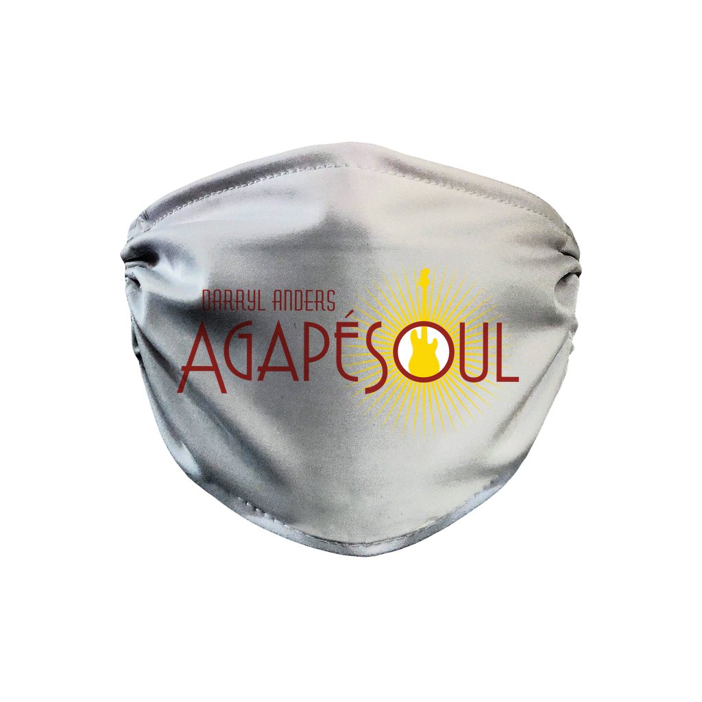 AgapeSoul = White Face Mask